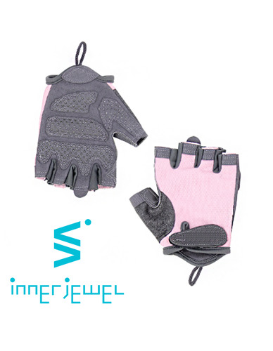 Pink Gray Work-Out Gloves (자체제작)